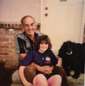 Me, Grandpa, and Bud